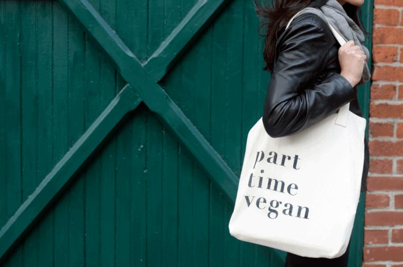 not always vegan